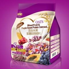 悦享心之味混合水果紫薯谷物麦片600g