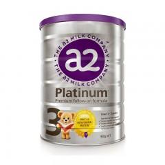 澳洲A2 Platinum 白金版婴幼儿亚博娱乐手机app官网3段900g(1-3岁) 新西兰原装进口