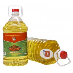 哈萨克斯坦非转基因红花籽油5L/桶