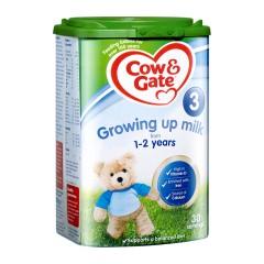 【两罐装】英国 Cow&Gate/牛栏 3段幼儿澳门银河真人娱乐(1-2岁) 900g