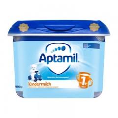 德国爱他美(Aptamil)幼儿配方澳门银河真人娱乐 1+段(12个月以上) 800g/罐 新版安心罐