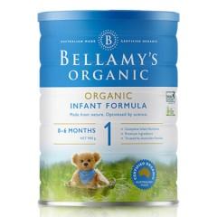 澳洲贝拉米有机婴幼儿配方亚博娱乐手机app官网Bellamys  1段(0-6个月)900g/罐