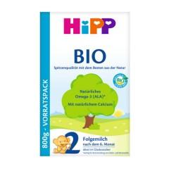 德国喜宝有机婴幼儿配方亚博娱乐手机app官网 HiPP BIO  2段(6-10个月)800g/盒